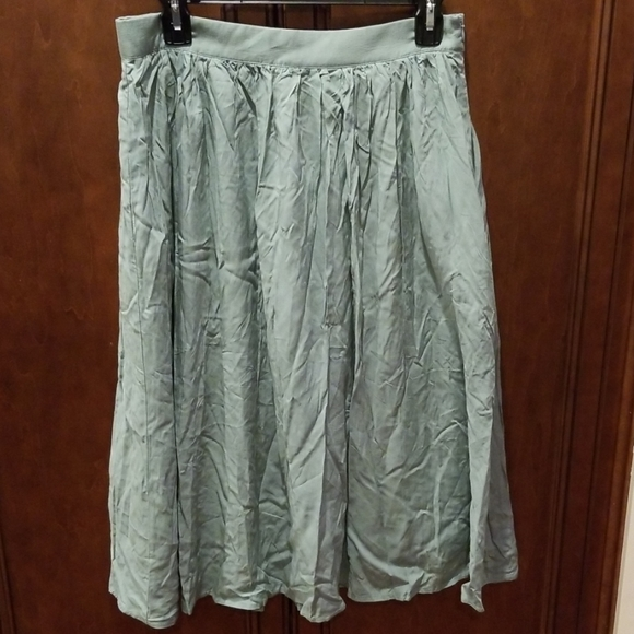 Modcloth Dresses & Skirts - Match Made Midi Skirt Jade Green Sz Large Medium